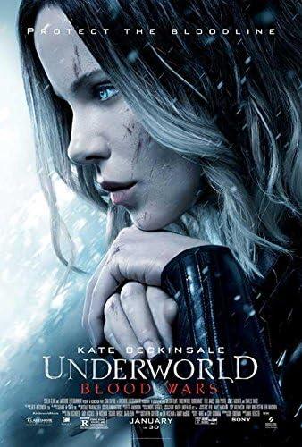 Amazon.com: Underworld: Blood Póster de la película Wars 27 x 40, Kate  Beckinsale, I, fabricado en los EE. UU.: Home & Kitchen