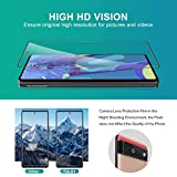 [3+2 Pack] TQLGY 3 Pack Screen Protector for Google