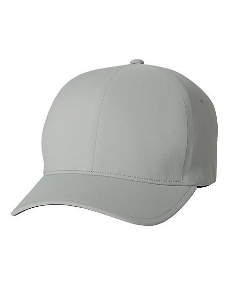 7d9104d5f Flexfit Delta 180 Premium Baseball Cap Small/Medium Silver