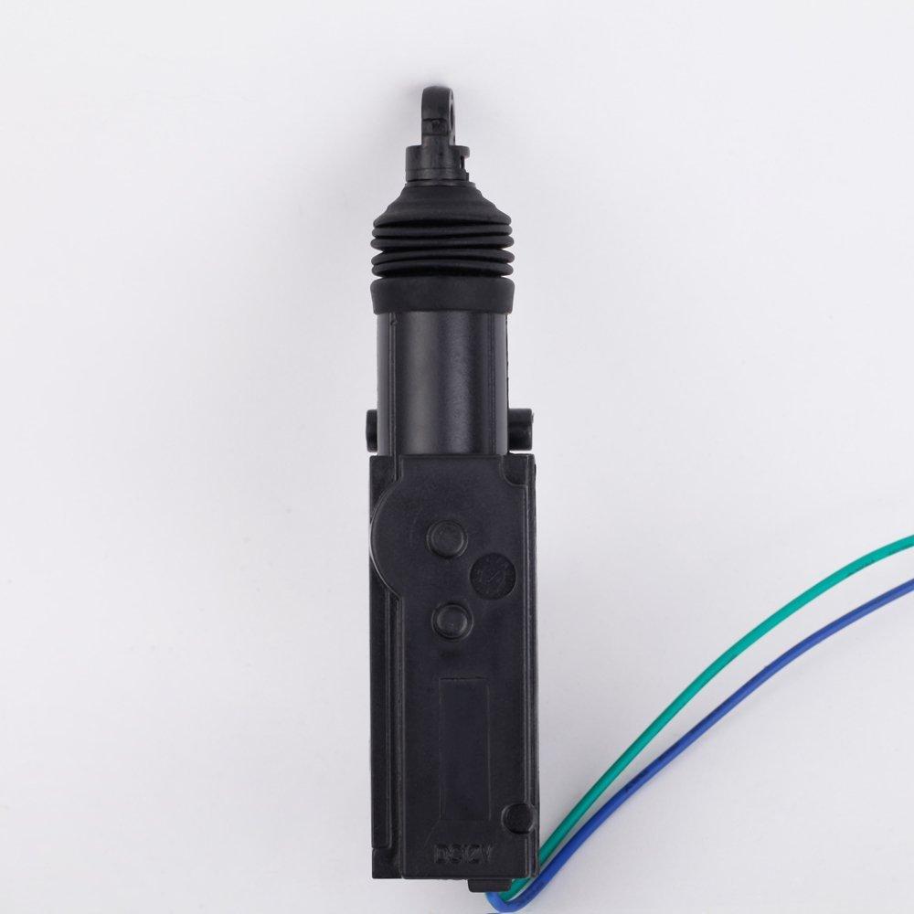 Activador universal para bloqueo de puerta de coche con cierre centralizado con 2/cables de 12/V KKmoon