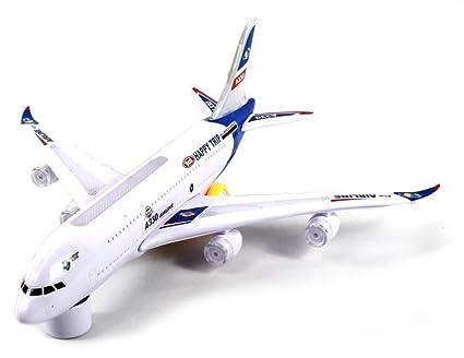 Amazon.com: VT Jumbo World Airways Bump & Go funciona con ...