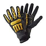 Briers Advanced Cut-Resistant Gloves, Yellow/Black, Large