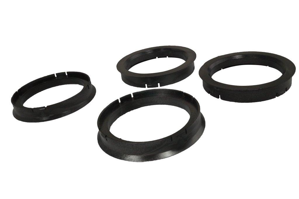 4 Zentrierringe 70, 4 mm - 57, 1 mm WamSter