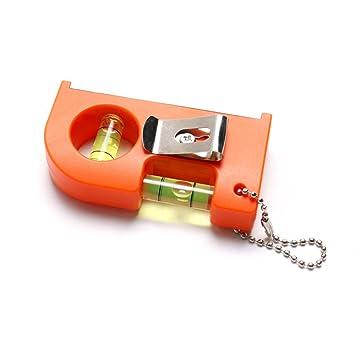 Atoplee 854519.5mm - Nivel de llavero con imán en V, diseño ...