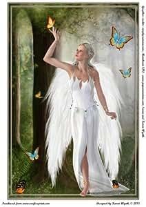 Ángel Hada de mariposas por Karen Wyeth