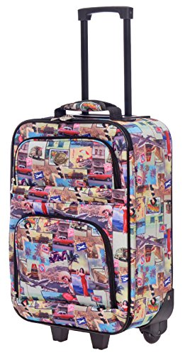 ghtweight Luggage Softside Carry On Suitcase (Vintage) (Jennifer Lopez Bags)