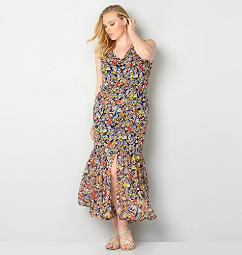 AVENUE-Womens-Wildflower-Flounce-Maxi-Dress