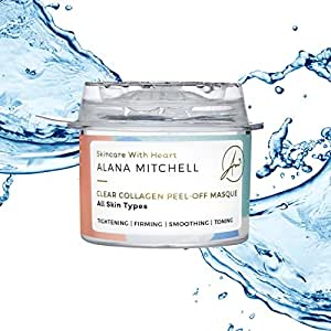 Peel Off Anti-Aging Face Mask By Alana Mitchell Tightening Firms Smoothing & Toning Quick Comeback - Instantly Reduces Wrinkles Fine Lines All-Natural Formula All Skin Types (Single Use)