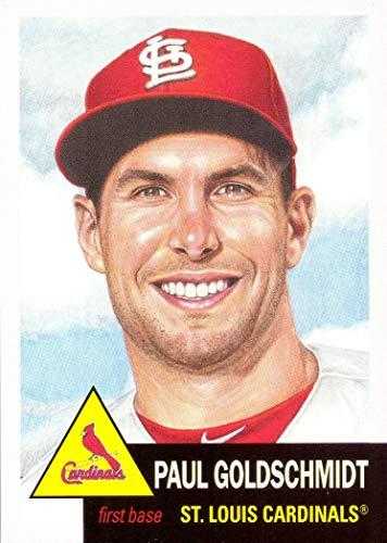 (2019 Topps Living Set #181 Paul Goldschmidt Baseball Card St. Louis Cardinals - Only 3,098 made!)