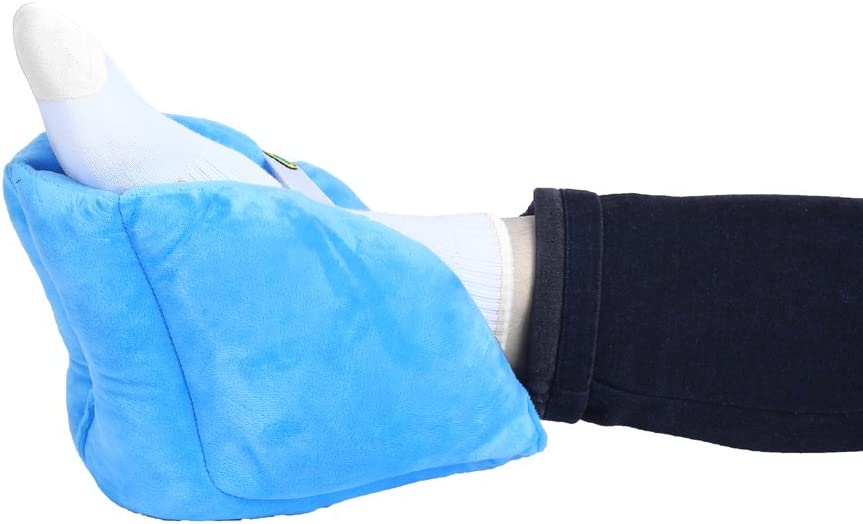 Adj DMI Heel Cushion Protector Pillow to Relieve Pressure from Sores and Ulcers