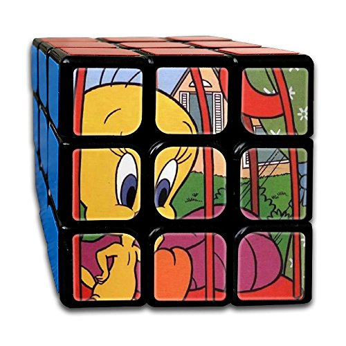 Tweety-bird-in-cage 333 Super-durable Cube,Easy Turning And Smooth Play, Developing Intelligence