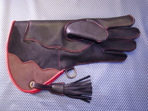 Ultimate Falconry Glove. Double Skinned plus KEVLAR Puncture resist. (MENS EXTRA LARGE)
