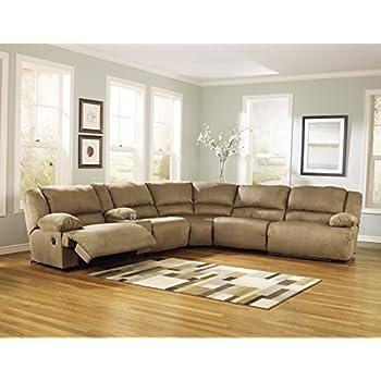 Amazon Com Ashley Furniture Signature Design Hogan 6 Piece Sectional