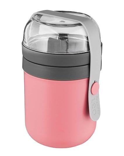 Berghoff 3950122 - Recipiente dual, color rosa/gris: Pieter ...