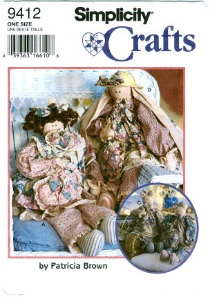 (Simplicity 9412 Crafts Sewing Pattern 29