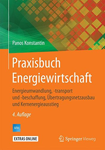 Praxisbuch Energiewirtschaft: Energieumwandlung, -transport und -beschaffung, Übertragungsnetzausbau und Kernenergieausstieg (VDI-Buch)