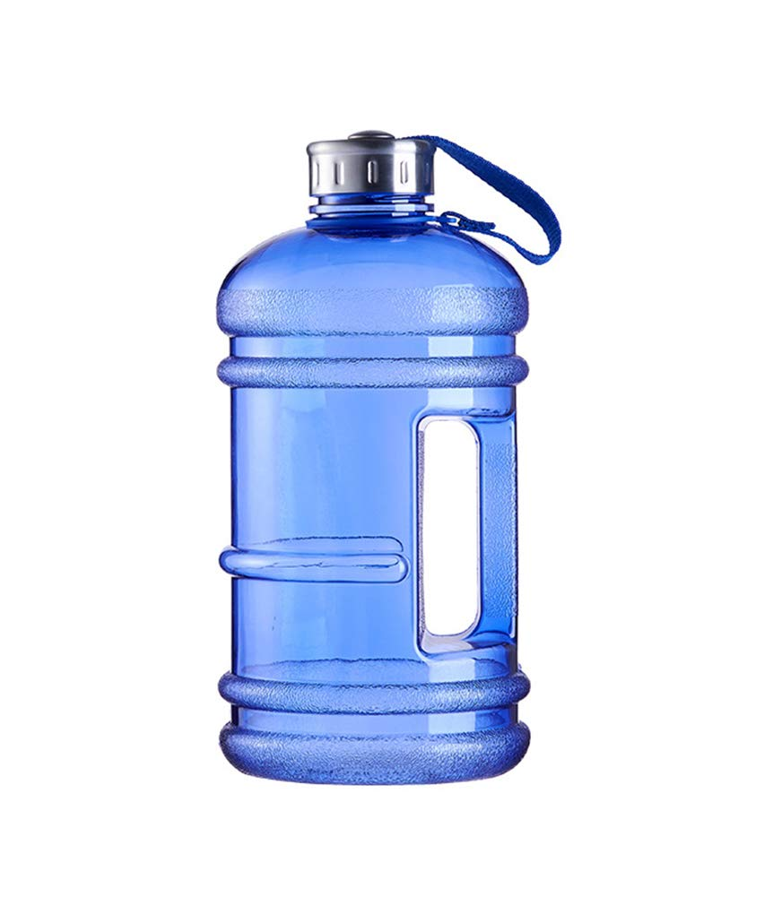 Easyinsmile Sports Water Bottle Fitness Workout Daily Drinking Jug BPA Free Leak Proof for Gym Fitness Outddor