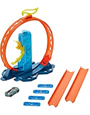Hot Wheels Track Builder Pack Assorted Loop Kicker Pack Connecting Sets Ages 4 and Older