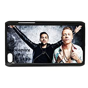 Hip hop duo Macklemore & Ryan Lewis Personalized IPod Touch 4/4G/4th Generation Hard Plastic Shell Case Cover White&Black(HD image)
