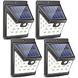 Urlitoy Solar Lights Outdoor 22 LED Wide Angle Illumination Motion Sensor Waterproof Wall Light Wireless Security