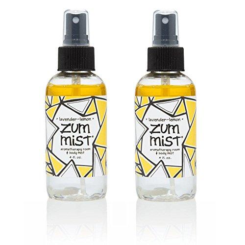 Indigo Wild: Zum Mist Lavender Lemon 4 Fl Oz Set of (Indigo Wild Zum Mist Lavender Lemon)