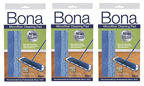 Bona 3 Pack Microfiber Cleaning Pad