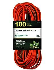 GoGreen Power GG-13700 - 16/3 100\' SJTW Outdoor Extension Co...