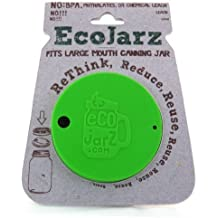 Ecojarz Silicone Drink Top for WIDE Mouth Canning Jars