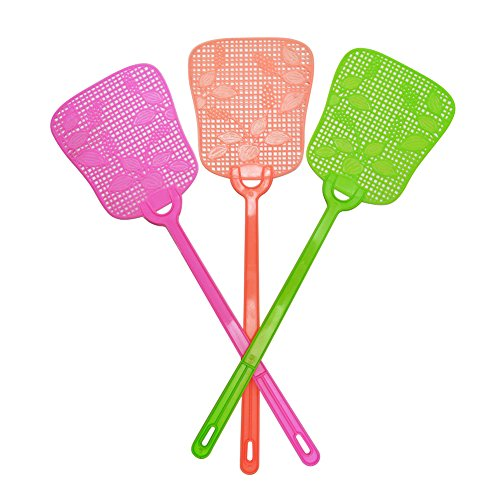 (Fly Swatter Manual Swat Pest Control, Hand Fly Swatters, Plastic Handle, Kids hand toy)