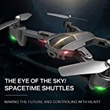 Yezijin Unmanned Aerial Vehicle, VISUO XS812 GPS 5G WiFi FPV - 2MP 720P /5MP 1080P - HD Camera Foldable RC Quadcopter Drone (5MP 1080P)