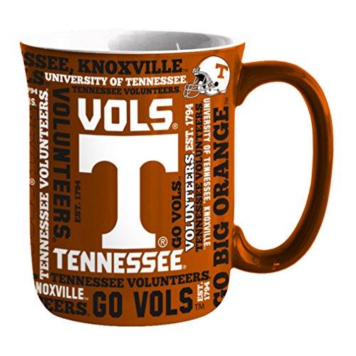 NCAA Tennessee Volunteers Sculpted Spirit Mug, - Mug Tennessee Coffee Volunteers