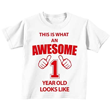This Is What An Awesome 1 An Old Looks Like Blanc T Shirt