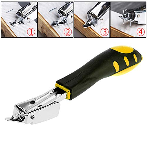 Gmgod❤️❤️Upholstery Carpet Puller Tool Staple Remover Tack Ofiice Claw Hand Held Stapler Black (Best Stapler To Use For Upholstery)