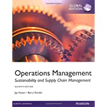 Operations Management 11th Edition by Barry Render and Jay Heizer (2013)