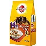 (まとめ買い)マースジャパン ペディグリー 14歳から用 チキン&緑黄色野菜 ささみ入り 70g×3袋 犬用 【×16】