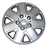 98 honda accord hubcaps - TuningPros WSC-026S15 Hubcaps Wheel Skin Cover 15-Inches Silver Set of 4