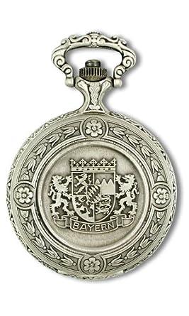 Claude Pascal Taschenuhr antik Handaufzug Bayern Wappen 31712 AM4
