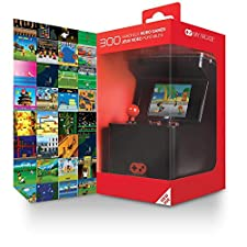 My Arcade Retro Arcade Machine X: Portable Gaming Mini Arcade Cabinet