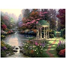 Plaid Creates Paint by Number Kit (16 by 20-Inch), 21787 Garden of Prayer by Thomas Kinkade