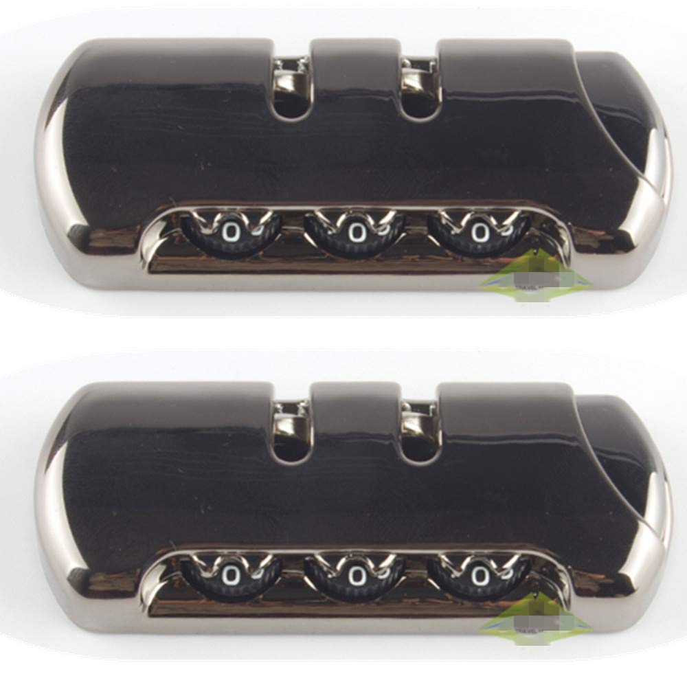 YF Circular Type Travel Luggage//suitcases Password lock Accessories parts DS-005A Set of A pair