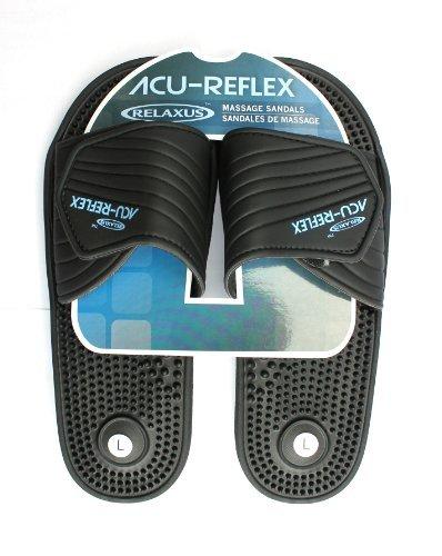 ACU-рефлекторный массаж сандалии. 1 пара. ReflexologySandals. Acu-шиацу Сандалии (M (Женщины 8-9))