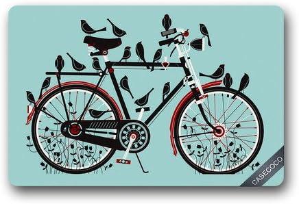 Colsprint Custom Bike Bicicleta Felpudo Cubierta Alfombra al Aire ...