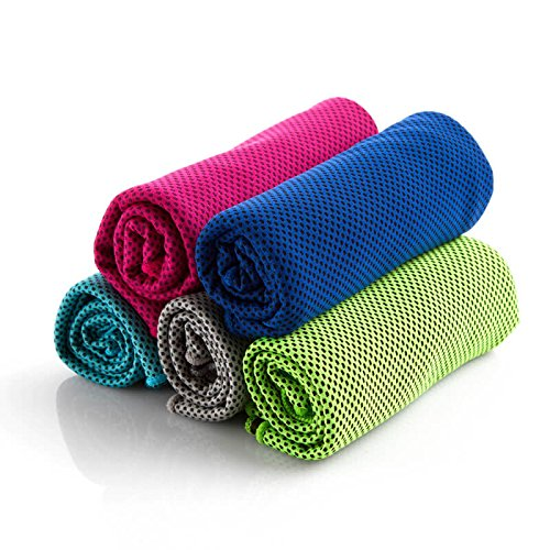 "Gym Towel 40""x12"" for Instant Relief, Suitable for Fitness, Swimming, Yoga, Pilates, Camping Traveling, Camping, Golf and More, Beach Towel Great for Outdoor Use!"