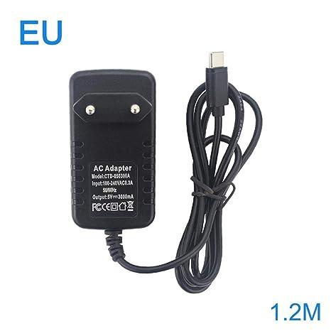 Seasaleshop Cargador De Energía USB Tipo C, 5V 3A con ...