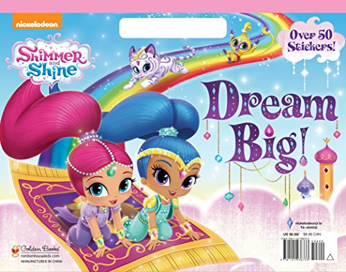 [R.e.a.d] Dream Big! (Shimmer and Shine) (Big Coloring Book) T.X.T