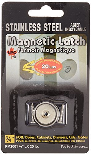 Leisure Products (PM 2001 LX 20 lbs) 3/4 Flush Mount Magnetic Latch, Model: PM 2001 LX 20 lbs, Outdoor/Garden Store, Repair & Hardware