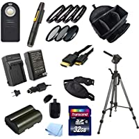 Starter Acessory Kit for Canon 10D, 20D, 30D, 40D and 50D