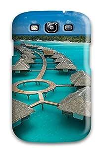 Frances Thompson's Shop High Grade Flexible Tpu Case For Galaxy S3 - Bora Bora