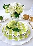 Sophistiplate 43Vtl2 Petalo Paper, Salad/Dessert Plates (20 Pack), Lime Green