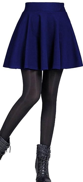 Mini falda plisada elegante para fiesta. Disponible en varios colores.
